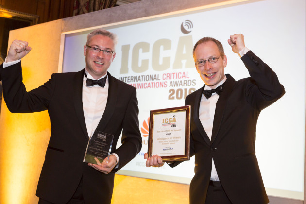 ICC Awards 2016 Winner Intelligence on Wheels