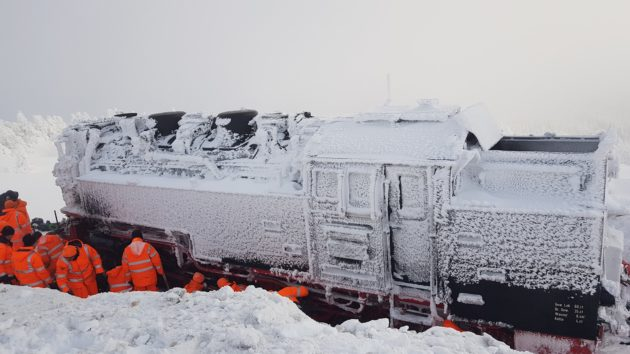 Frozen Steam Locomotive 1
