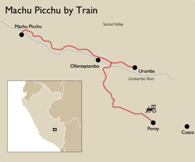 Cusco Machu Picchu railway line